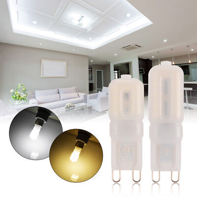 10x 3/5/8/12W G4/G9 Bright Dimmable Capsule Bulb LED Lights Replace Halogen Lamp