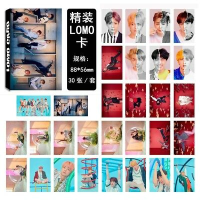30PCS Kpop BTS Lomo Card Bangtan Boys Love Yourself 结Answer Photocard JIMIN SUGA
