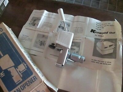 Vintage Kenwood Chef Can Opener Attatchment A778 with box.     Deceased Estate.