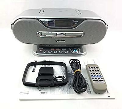 Panasonic RX-MDX80-S Silver Personal MD system (CD / MD deck)