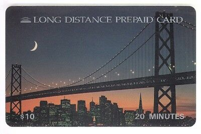 Amerique  Telecarte / Phonecard .. Usa 10$ Ldp Pont Bridge Sunset 03/96 +N°
