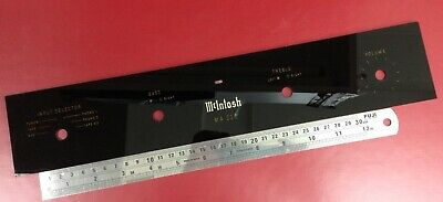 MCINTOSH MA230 FRONT glass replacement upper panel plate new