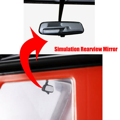 Simulation Rearview Mirror For Traxxas TRX4 1/10 RC Inside Mirror Decoration