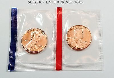 1987 P & D Lincoln Memorial Cent / Penny Set  *MINT CELLO*  **FREE SHIPPING**