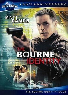 The Bourne Identity (DVD, 2012, Canadian 100th Anniversary) s New Action
