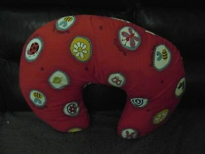 PHP GIFT & BABY LTD: WIDGEY FOSSIL RED 5 in 1 BREASTFEEDING / NURSERY PILLOW