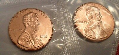2001 P & D Lincoln Memorial Cent / Penny Set *MINT CELLO*  **FREE SHIPPING**