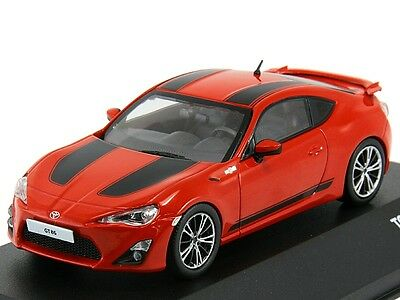 Toyota GT86 1st Edition LHD - red/black 2012 1:43 J-Collection JC251