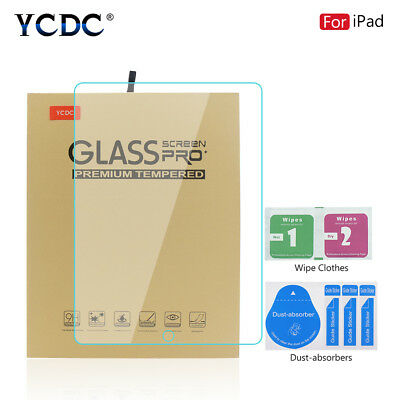 Genuine Tempered Glass Screen Protector Cover For iPad Pro/Air/Mini Series 8991