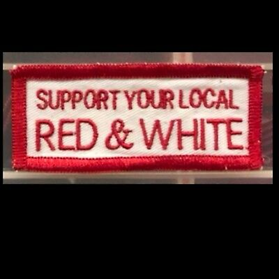 Hells Angels Mpls-Support Your Local Red & White Patch
