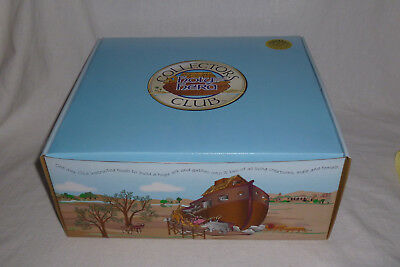 Holy Herd Noah's Ark Collector's Club Members Edition Set NEW (2001)