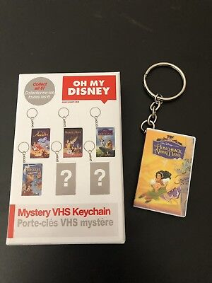 Oh My Disney STORE  Mystery VHS Keychain-The Hunchback Of Notre Dame-New