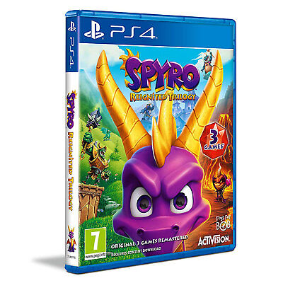 Spyro Reignited Trilogy (PS4) Game | Brand New & Sealed | Fast & Free Delivery !
