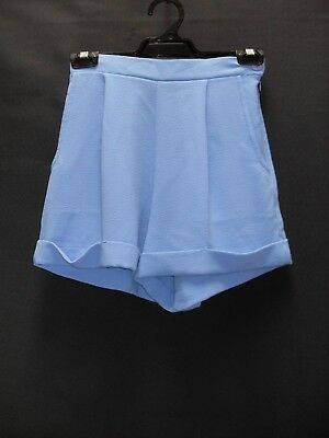 """1990's Vintage """"American Apparel"""" Crepe Shorts with 1/2 Elastic Band."""