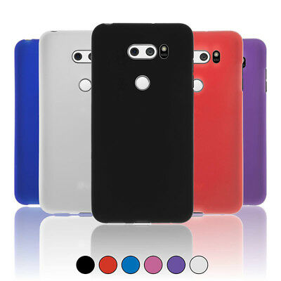 For LG V30 / V30 Plus / V35 ThinQ Frosted Matte Gel TPU Silicone Case Cover Skin
