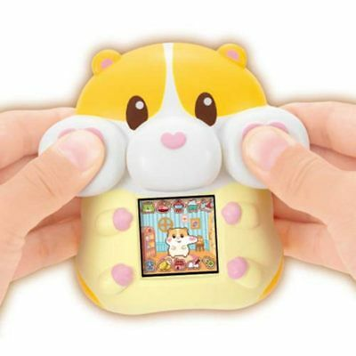 Sega Toys Motchimaruzu Cream Squishy Virtual Electronic Digital Pet Game Sg79978
