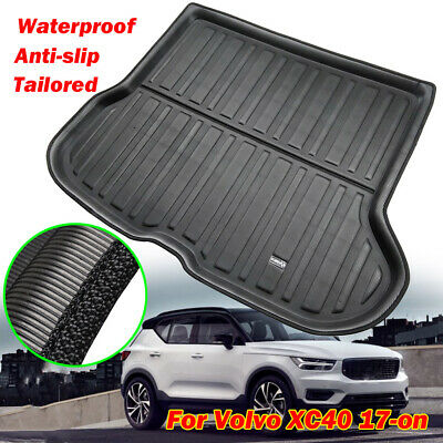 Cargo Boot Liner Tray Trunk Floor Mat Carpet Waterproof For Volvo XC40 2017-2019