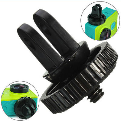"""1/4"""" Monopod Tripod Mount Adapter with Screw Thread For GoPro Hero 1 2 3 3VP LY"""