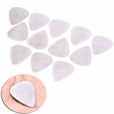 12pcs bass guitar pick stainless steel acoustic electric guitar plectrums 0.3 Y5