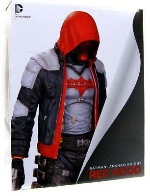 DC Black And White Batman Arkham Knight Red Hood 10 Inch Statue