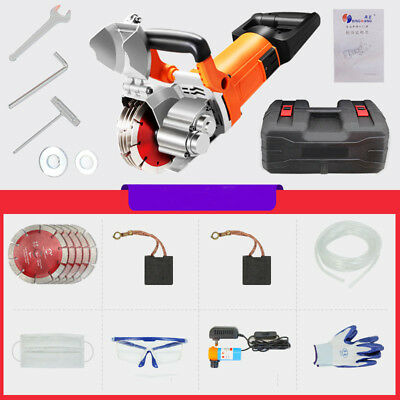 220V Wall Slotting Machine Wall Chaser Groove Cutting Machine 4500W