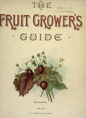 Fruit Growing - 220 Books On Dvd - Apples Pears Berries Fruits Plums Gardening