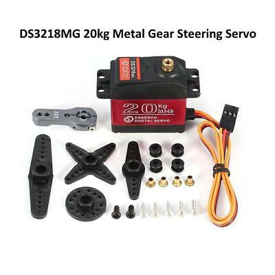 Waterproof DSSERVO DS3218MG Digital Servo 20KG Torque Metal Gear f/ RC Car Robot