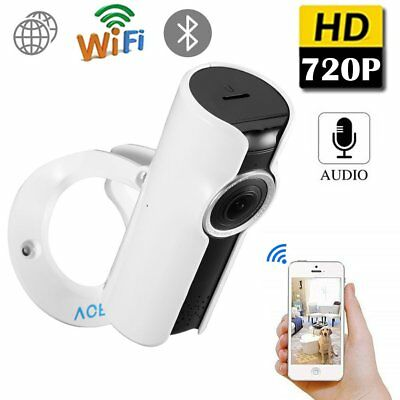 720P Wireless WIFI Pan Tilt Security IP Camera Night Home Webcam Baby Monitor TO