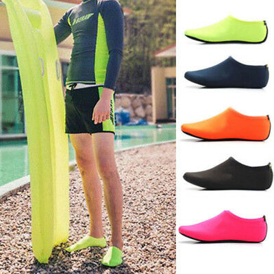Unisex Aqua Skin Shoes Swim Water Socks Yoga Exercise Pool Diving Slip On Surf