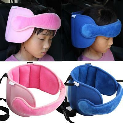 Safety Baby Kids Stroller Car Seat Sleep Nap Aid Head Fasten Support Holder QK