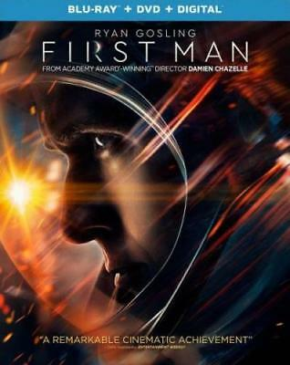 PREORDER - FIRST MAN (Ryan Gosling) (BLU RAY) Region A