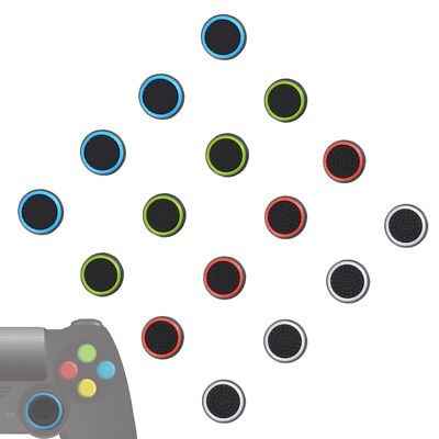 16x Striped Silicone Thumb Stick Cover for PS3 PS4 XBOX One Controller AC1689