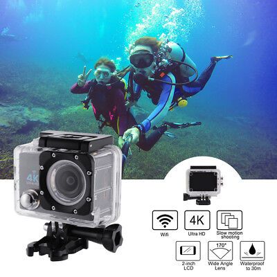 1080P Ultra HD 4K WIFI 16MP Action Camera 30M Underwater for Water Sport LF872