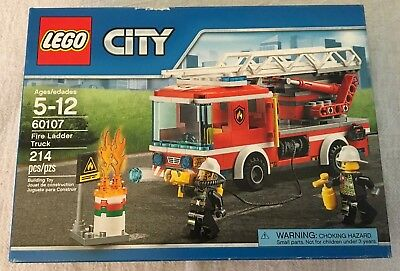Lego City Fire Ladder Truck 60107 Free Shipping 2200 Picclick
