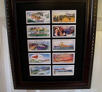 LIFEBOATS (History - UK)  + SHIPS, HELICOPTERS  - 6 or 10 pictures i frames
