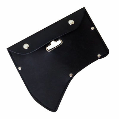 1 PC High Quality Premium Leather Ax Axe Blade Case Sheath with Hook for Outdoor