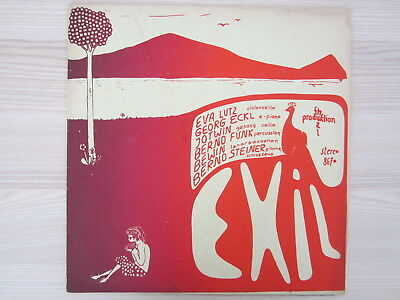 LP / EXIL Fusionen Kraut Psych Folk Jazz  / AUSTRIA-GERMAN KRAUTROCK / TOP RAR /