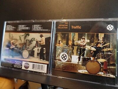Traffic - The Definitive Collection Used Cd - Very Good