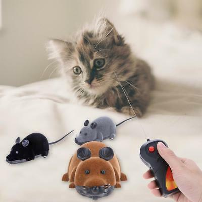 Remote Control RC Rat Mouse Wireless For Cat Dog Pet Funny Toy Novelty Fun Gift