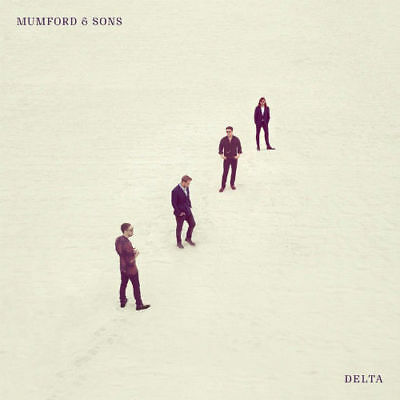Mumford & Sons CD 2018 Delta  Physical Factory Sealed Album NEW CRACKED CASE
