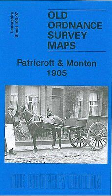 Old Ordnance Survey Map Patricroft & Monton 1905