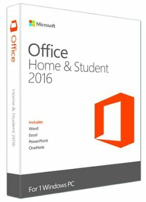 Microsoft Office 2016 Home And Student - Product Licence Key - >> ONLINE SENT <<