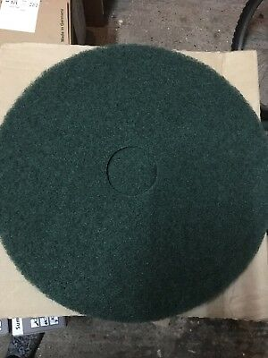 """NEW 17"""" Green Floor Pad For Rotary Scrubber Drier Machine Burnishing"""