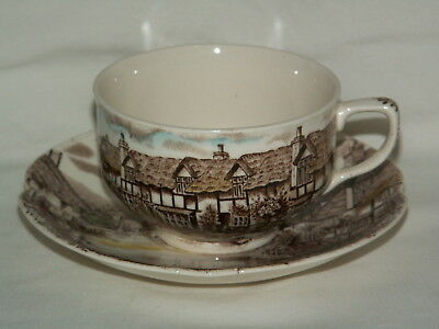 Johnson Brothers OLDE ENGLISH COUNTRYSIDE Cup & Saucers Made in England