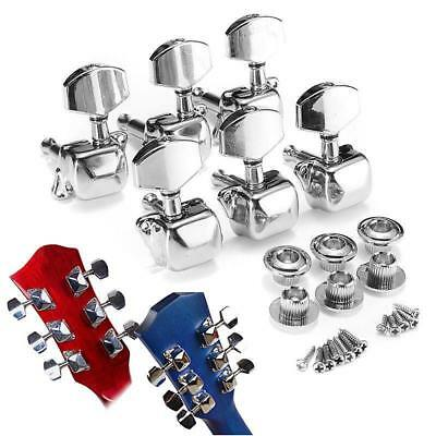1x Acoustic Guitar String Semiclosed Tuning Pegs Tuners Machine Heads Music LE^