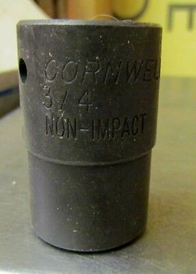 "New Cornwell T-5124B 3/4"" 12 point  3/4"" Drive Non Impact Socket"
