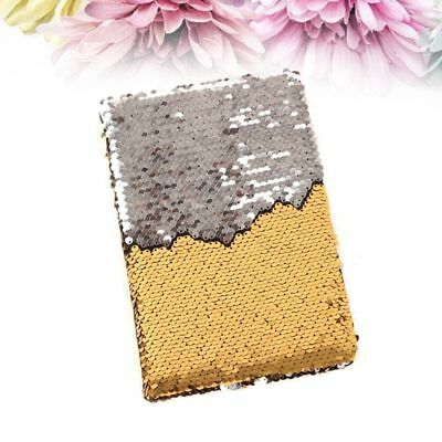 1PC A5 Cute Portable Memo Sequin Notebook School Stationery Home Office Supplies