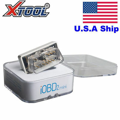 XTOOL iOBD2 Diagnostic Scanner OBD2 EOBD Support Bluetooth 4.0 for iOS/Android