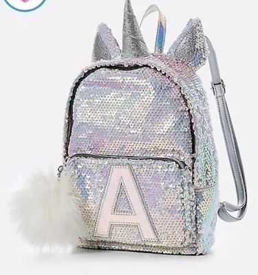 "Justice Unicorn Flip Sequins Mini Backpack ""A"" *New With Tags* FREE SHIPPING"