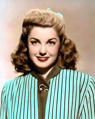 """ESTHER WILLIAMS HOLLYWOOD ACTRESS MOVIE STAR 8x10"""" HAND COLOR TINTED PHOTOGRAPH"""